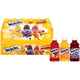 Welch's Drink Variety Pack - Fruit Punch Grape Orange-Pineapple Drink 10-Ounce Bottles (Pack of 24)