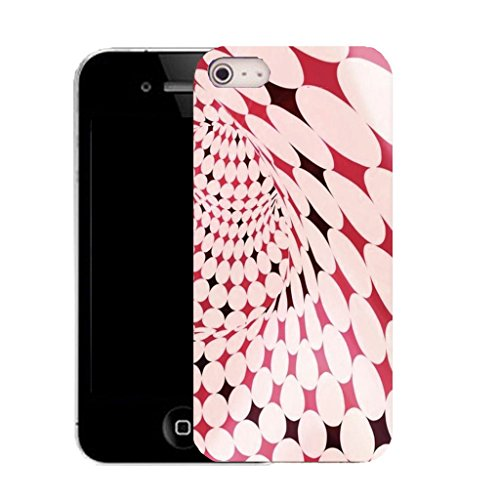 Mobile Case Mate IPhone 4s clip on Silicone Coque couverture case cover Pare-chocs + STYLET - petulant pattern (SILICON)