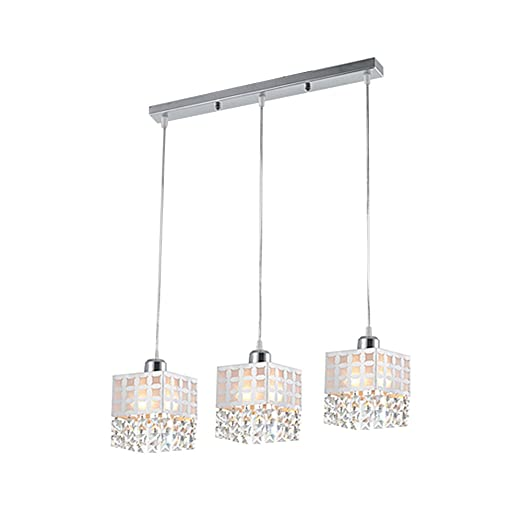 Amazon.com: dinggu ™ moderna cocina colgante isla Lighting ...