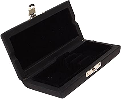 Caja de Almacenamiento para Cañas de Oboe, Color Negro, PU Cuero Madera - para 3 pcs: 92x45x20 mm: Amazon.es: Instrumentos musicales