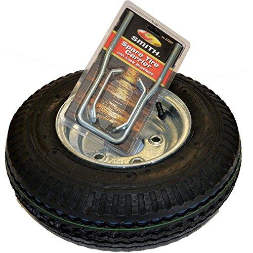 Malone XtraLight Galvanized Spare Tire w/Locking Attachment
