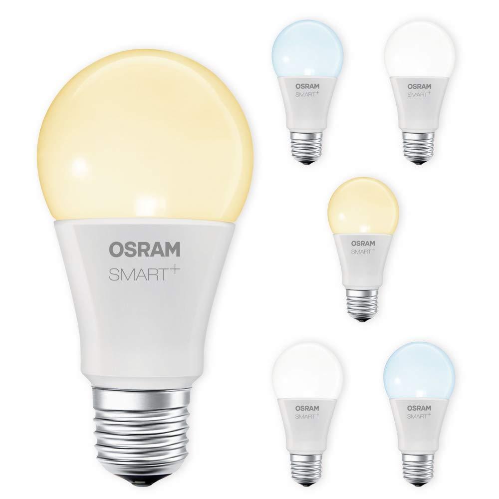 OSRAM SMART+ LED E27 Lampe Tunable Weiß dimmbar Lightify Echo Alexa kompatibel Auswahl 6er Set