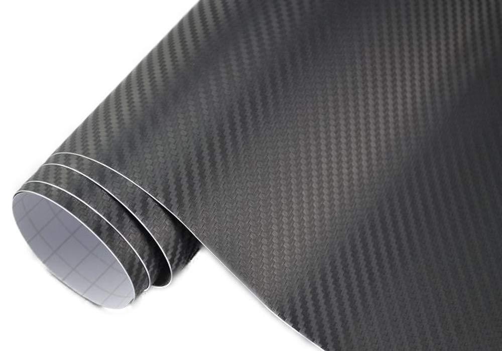 3, 22€/m² 3D Carbon Folie - schwarz - 100 x 152 cm selbstklebend flexibel Car Wrapping Folie Neoxxim