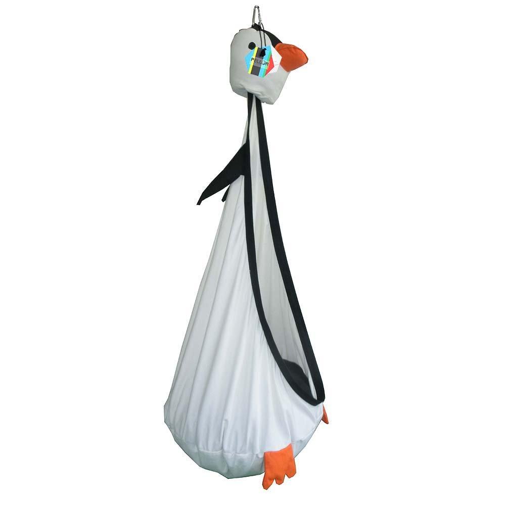 Pellor Süß Kinder Spielzeug Baumwolle Hängematte Kindersporttasche Swing Kids Übung Fitness Hanging Sitz Gamming Swing Stuhl Maximale Belastung von 80kg (Weiße Enten)