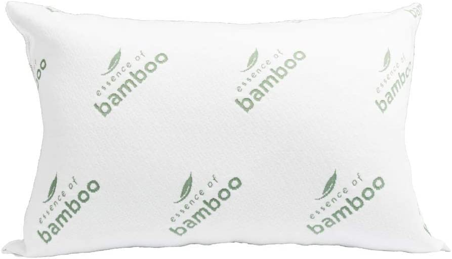 "The Original ESSENCE OF BAMBOO Down Alternative Pillow Jumbo Size 20"" x 28"""