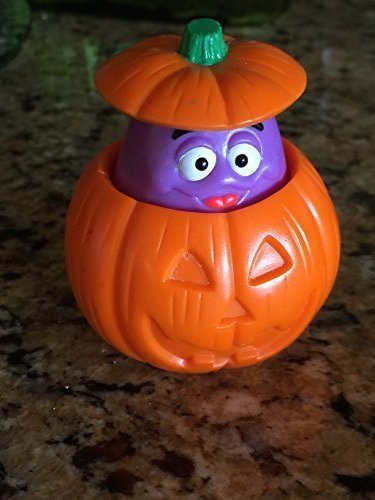 Grimace Halloween Happy Meal Toy (Under 3 years)]()