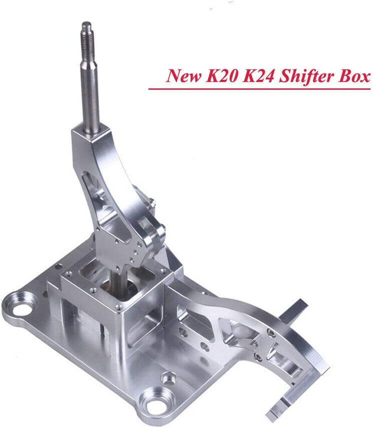 Billet Racing Shifter Box Set Aluminium Compatible with Acura RSX Type-S /& K-Series Swap Civic Integra EF EG EK DC2