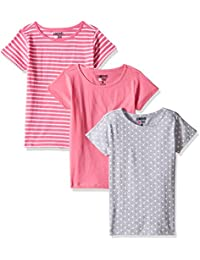 Limited Too Little Girls' 3 Piece Short Sleeve Tee Print,...
