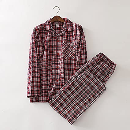 VT BigHome 100% cotton dinosaur pajamas sets mens Sexy plaid casual sleepwear for male pyjamas
