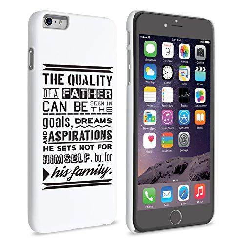 Caseflex iPhone 6 / 6S Plus Hart Hülle Papa Familie Zitat Schtutzhülle