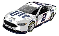 Lionel Racing Brad Keselowski #2 Miller Lite 2018 Ford Fusion 1:64 Scale Arc Diecast Car by Lionel Nascar Collectable, LLC