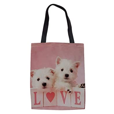Mzdpp West Highland Terrier Perro Impresión Bolsas De ...