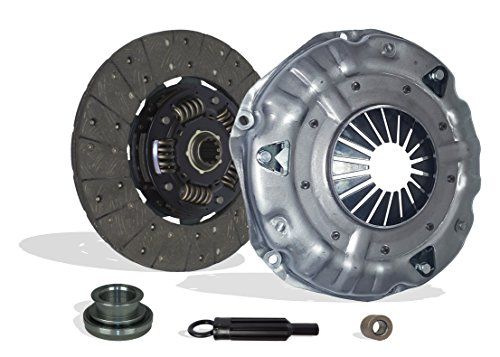 Gmc S15 Clutch - Clutch Kit Works With Chevy Gmc Blazer Silverado Sierra Tahoe Jimmy Yukon Cheyenne Silverado WT Beauville Chevy Van Sportvan Hi-Cube 1985-1991 4.3L V6 GAS OHV Naturally Aspirated (11 inch. Clutch)