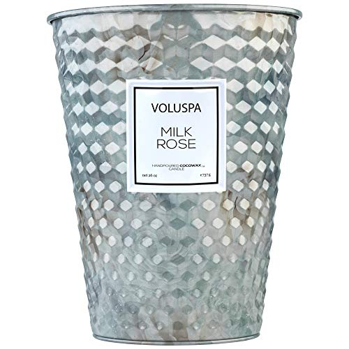 (Voluspa New Milk Rose 26 Ounce 2 Wick Candle)