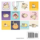 Pusheen the Dog: 2021 Mini Wall Calendar, 7 x 7