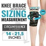 Knee Brace with Side Stabilizers & Patella Gel Pads