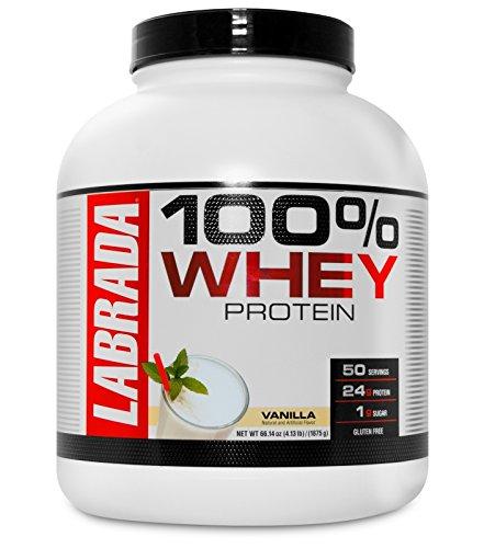 Labrada 100% Whey Protein – 4.13 lbs (1875 g) (Vanilla) Price & Reviews