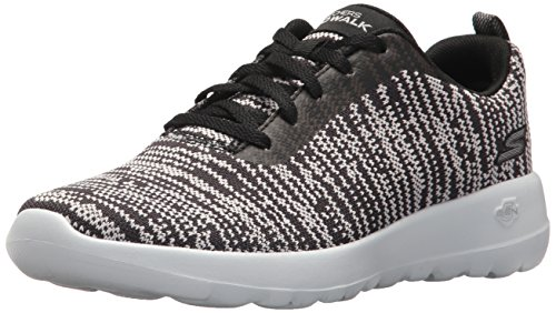 Walk Rapture Go Skechers Femme Noir Baskets Blanc Joy q7PwwxBp