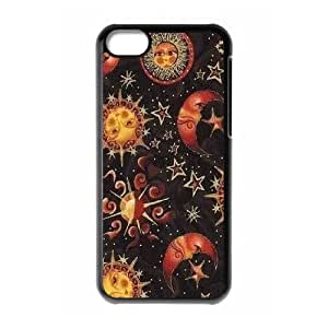 diy phone caseSun Moon Pattern Personalized Cover Case for iphone 4/4s,customized phone case ygtg543177diy phone case