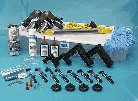 CRL Professional UV Glass Bonding Kit With Tube Light by