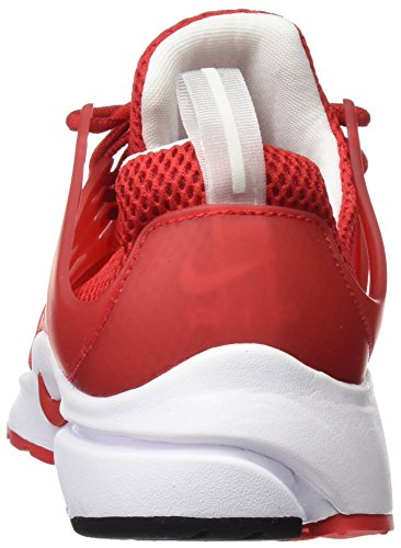Nike Mens Air Presto Essentiële Universiteit Rood / Wit