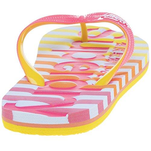 SUPERDRY Donna Eva Rosa Sandalo Pink Stripe vqBqSY