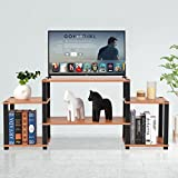 Tangkula TV Stand Entertainment Center Media Console Table Stand Modern Home Office Furniture with Storage Shelves