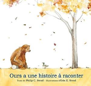 vignette de 'Ours a une histoire à raconter (Philip C. Stead)'