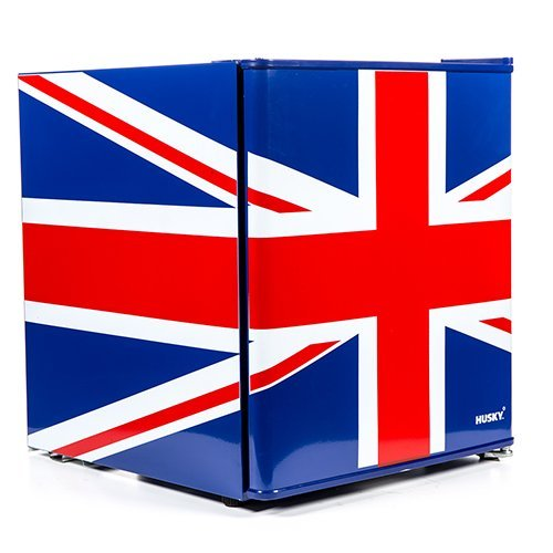 Union Flag Mini Fridge Husky EL193