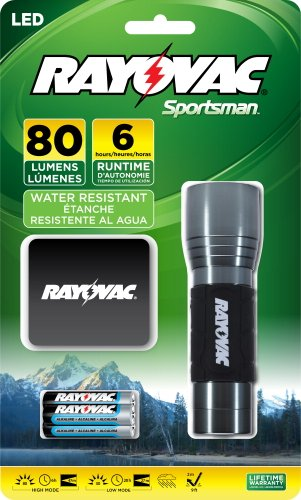 Rayovac Sportsman Flashlight Batteries SE3AAAMN BA