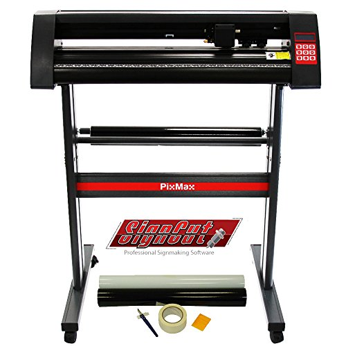 PixMax Vinyl Cutter Plotter Machine 28', SignCut...