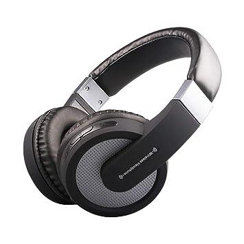 HXMEJ Auriculares Auriculares en el oído Auriculares inalámbricos Bluetooth Orejeras estéreo subwoofer de Alta fidelidad Deportes