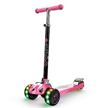 WYQ Scooter Freestyle Niños De 3 A 18 Años, Patinete 3 ...