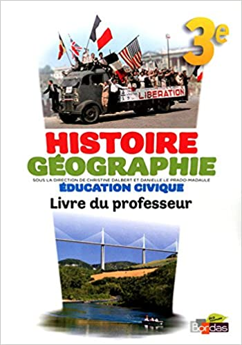 Livre gratuits en ligne Histoire Géographie 3e • Livre du professeur epub, pdf