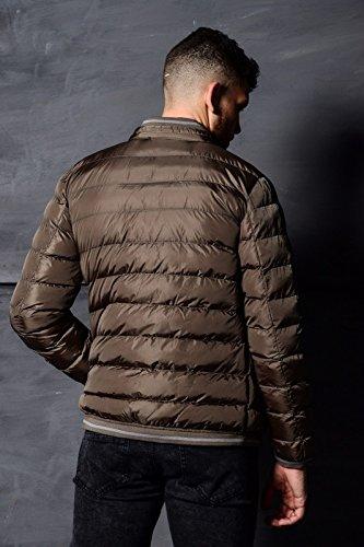 Padded Bomber Designer Winter Jeans Coat Mens Warm Quilted Olive Eto Jacket Puffer qEWt0xTT