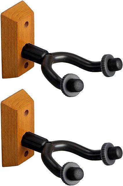 LYCOS3-2 ganchos para guitarra (montaje en pared, soporte para ...