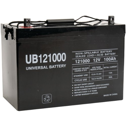 Universal Power Group 45978 Sealed Lead Acid Battery ()
