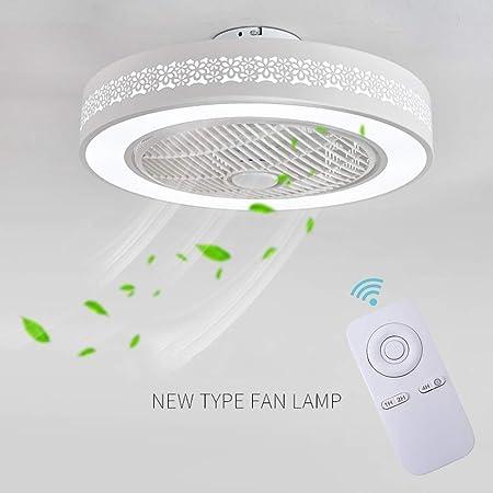 A Ventilatore A Soffitto Con Lampada Ventilatore Invisibile Creativo Con Telecomando Ventilatore A Soffitto A LED Ultra-silenzioso Dimmerabile Soggiorno Moderno Camera Bambini Lampada