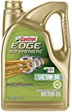 Castrol 03555 EDGE Bio-Synthetic 5W-30 Full Synthetic Motor Oil, 5 quart, 1 Pack