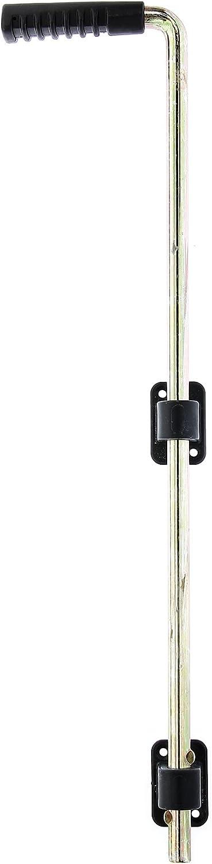 GAH-Alberts - Corredera para suelo con 2 guías negras y mango de plástico: Amazon.es: Bricolaje y herramientas