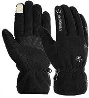Vbiger TouchscreenHandschuhe Fleece Handschuhe Winterhandschuhe Warme Handschuhe Sporthandschuhe