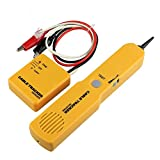 Telephone Network Tone Generator Wire Tracer & Circuit Tester with RJ11 Plug Tone and Probe Kit