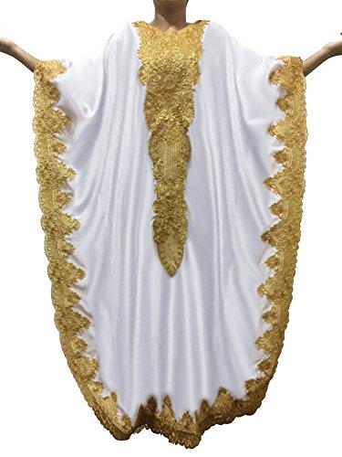kaftan silk dress - 2