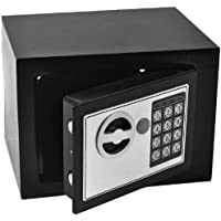 Cofre Eletrônico Digital Teclado Com Senha - 2 Chaves Sb17