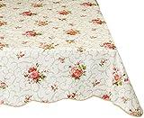 #5: Artisan Flair AF4760-60122 Warterproof Floral Vinyl Tablecloth