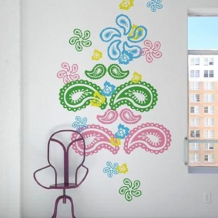 blik Paisley Wall Stickers - Childrens Room Decor - Amazon.com
