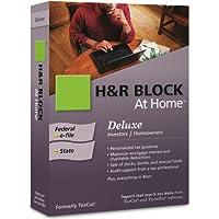 H&R Block At Home 2009 Deluxe Federal + State + eFile [VERSIÓN ANTIGUA]