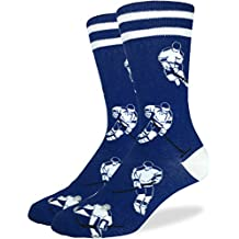 Good Luck Sock Men's Toronto Hockey Crew Socks, Toronto Maple Leafs