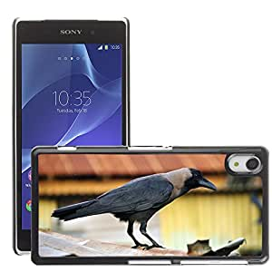 Super Stella Slim PC Hard Case Cover Skin Armor Shell Protection // M00147974 Crow Bird Black Raven // Sony Xepria Z2 L50W