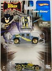 The Batman Hot Wheels Temblor Getaway Die-Cast Car Set with Batman Figure by Hot Wheels
